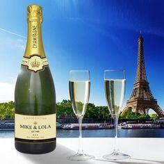 Personalised Autréau 75cl Champagne