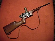 Mauser M7.13 9mm Carbine.