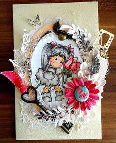 Magnolia Tilda card Birthday http://ellabella-kreativ.blogspot.de/2015/12/birthdayand-key.html