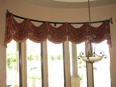 Bow Window Treatments