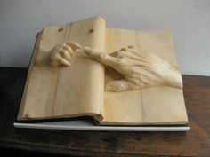 Wood Carving idea - very clever