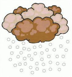 RECURSOS y ACTIVIDADES para Educación Infantil: El tiempo: Imágenes a color Weather Storm, Weather Unit, Weather Seasons, Teaching Science, Kids Rugs, Panel, Chocolate, Storms, School