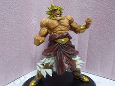 Dragon Ball DX MAX MUSCLE MANIA Broly Figure from Japan