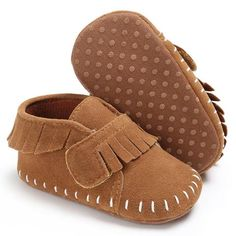 Raise Young Flock Spring Autumn Baby Moccasins Cotton Soft Soles Fringe  Toddler Boy First Walkers Newborn Infant Girl Shoes 8b80a644257a