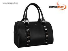 Elegant handbag delineating a minimalist silhouette with a rigid structure, as a main detail it has exclusive SWAROVSKI materials giving a sophisticated look without losing the essence of the CLOE brand. CLOE is a business affiliated to MONEYBACK. www.moneyback.mx  #moneyback