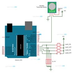 Breadboard arduino wiring schematic computer tech pcb arduino home automation using rf swarovskicordoba Image collections