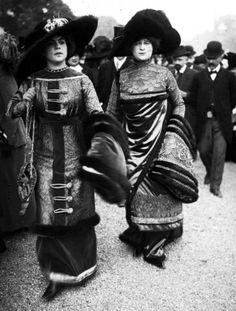 Мода и стиль в 1908-1914 – эпоха Поля Пуаре
