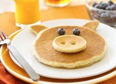 pancake pig. Blog da Roberta Giovaneli: Panquecas Americanas
