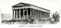 Temple of Hephaestus at Theseion, Athens. Southern Italy, Acropolis, Classical Architecture, Athens Greece, Ancient Greece, Temple, Asia, Greek, Europe
