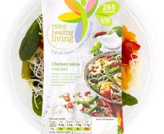Tesco, Healthy Living Chicken Laska Noodles, chilled 300g pot - 4½ Syns on Extra Easy