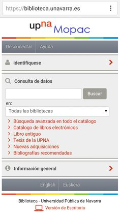 Universidad Pública de Navarra Universe