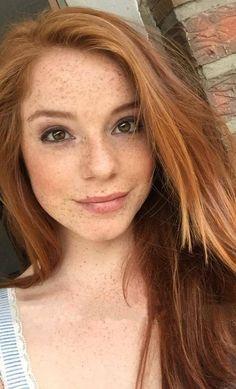 nude redhead short hair