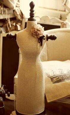 Vintage Inspired Dress Form - Mannequin