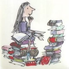 Limited edition Roald Dahl posters, prints and artwork featuring illustrations by Sir Quentin Blake. Buy from the home of Roald Dahl. Matilda Roald Dahl, Roald Dalh, Roald Dahl Characters, Chris Riddell, Quentin Blake Illustrations, Roald Dahl Quotes, Book Quotes, Rudyard Kipling, School Badges