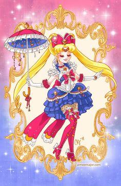 Rococo+Sailor+Moon+by+aimeekitty.deviantart.com+on+@DeviantArt