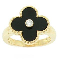 Van Cleef & Arpels Alahambra Ring #OMBAS Pampillonia Estate & Fine Jewelry