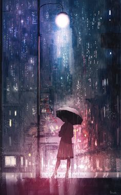 Don't stop believing by Pascal Campion, Digital, Posted by /u/OwnTheKnight to /r/art Art Anime, Anime Kunst, Art Internet, Illustrator, Art Et Illustration, Scenery Wallpaper, Anime Scenery, Aesthetic Art, Pascal Campion