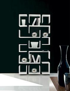 Questa libreria è il massimo della fantasia..La sua forma originale la rende unica..Basta guardarla un attimo per immaginarsi dentro ad un labirinto! http://www.idfdesign.it/mensole/kaos.htm ( This library is the best about fantasy..Its original form makes it unique..Just look at her for a moment to imagine inside a maze! ) http://www.idfdesign.com/wall-shelf/kaos.htm [ #design #designfurniture #F2FormandFunction #F2 #Libreria #library #bookcase ]
