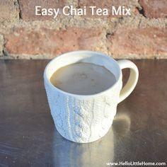 Easy Chai Tea Mix | Hello Little Home