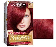 Discover the Recital hair dye by L'Oréal for fade-defiant hair colour that lasts. Red Hair Trends, Red Hair Inspo, Hair Color Cream, Red Hair Color, Loreal Preference Hair Color, Dyed Red Hair, Glamorous Hair, Hair Dye Colors, About Hair