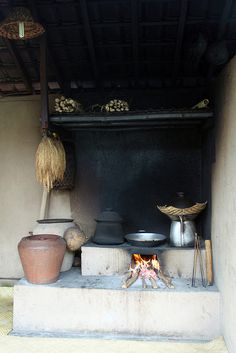 traditional kitchen - paon #Bali #Indonesia #kitchens