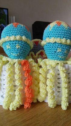 Deze inktvisjes zijn gemaakt door Annelies de Kraker de Cooler.