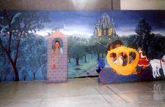 Torre da Rapunzel, Painel e a carruagem da Cinderela
