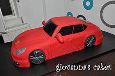 giovanna's cakes: Giant Porche cake:)