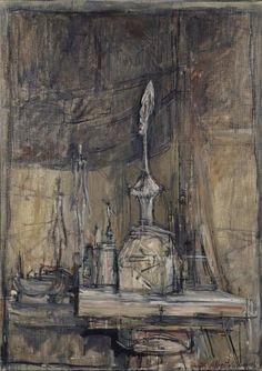 Alberto Giacometti, Giacometti Paintings, Illustrations, Illustration Art, Monochromatic Art, Sculpture, Art Forms, Art Inspo, New Art