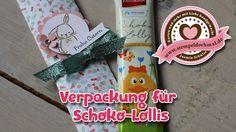 Tutorial: Schokololli-Verpackung mit Produkten von Stampin' Up!