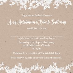 225 Best Photo Wedding Invitations Images In 2019