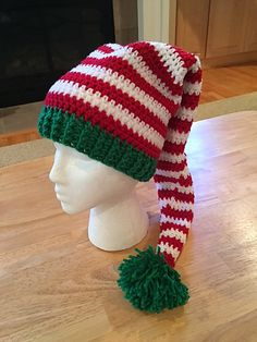 Ravelry: Project Gallery for Elf Hat pattern by Chassity Oquendo