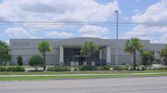 Jan Kaminis Platt Regional Library is a branch location of the Tampa-Hillsborough County Public Library in Hillsborough County, Florida. Library Locations, Classroom Setup, Florida, Regional, Manhattan, Outdoor Decor, Summer, Sun, The Florida