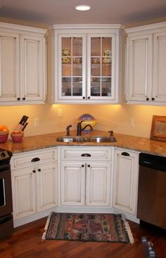 Corner Kitchen Sink Ideas For Best Cooking Experience | Corner ...