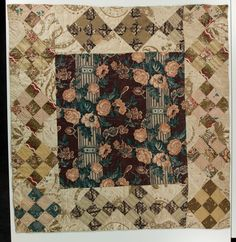 1840 nine patch doll quilt, Sara Dillow collection