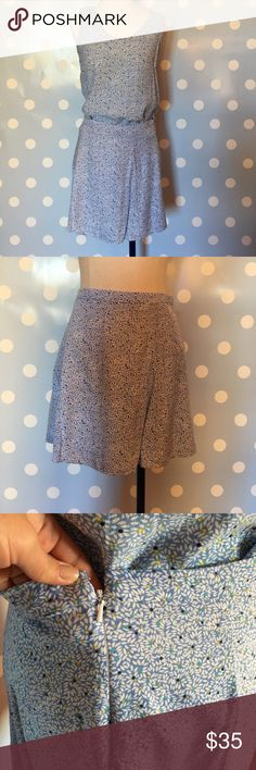 GAP Shirt & Skirt Set TWO SEPARATE PIECES. Both washed, shirt worn once skirt never worn. Size 04 in skirt, Small Shirt. 100%Rayon. Perfect for summer and looks adorable with brown belt and jean jacket!! GAP Skirts Mini