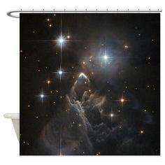 Taurus Nebula Shower Curtain