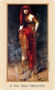Tarot of Delphi- The High Priestess