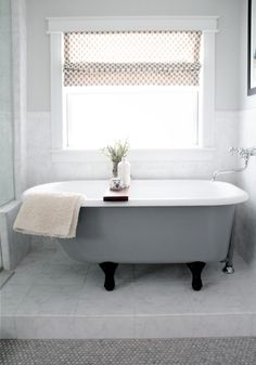 Bathroom, : Astonishing Window Treatment Ideas For Bathrooms White White Square Apron Window Design Along With Brown Dot Window Shades For R. Small Bathroom Window, Window Over Sink, Bathroom Window Treatments, Window In Shower, Bathroom Windows, White Bathroom, Master Bathroom, Glass Shower, Vintage Accessoires