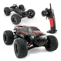 84.03$  Buy here - http://alid72.worldwells.pw/go.php?t=32684454506 - RC Truck 2WD 9115 coche 2.4G 1:12 Scale 1/12 40 KM Cepillado RC RTR Monster Truck Off-Road