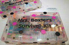 Teacher Survival Kit Outside   Flickr - Photo Sharing!
