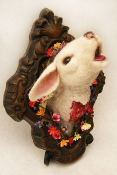 Jayne Dracula : Tales From Her Crypt: Bloody Lamb: Faux Taxidermy