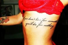 Check out LoveItSoMuch.com to discover unique products like Hot Side Rib Quote Tattoos for Girls - Big Side Rib Quote Tattoos for Girls.