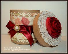 Shabby Chic Gift Box. $10.00, via Etsy.