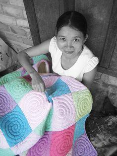 #quilt #handmade #Vietnam #socialbusiness #development Social Business, Vietnam, Quilting, Stitch, Blanket, Crochet, Girls, Handmade, Inspiration