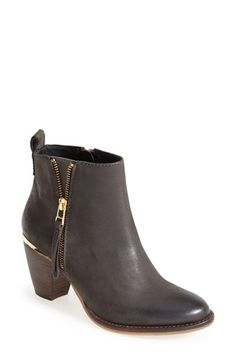 Steve Madden 'Wantagh' Leather Ankle Boot (Women) available at #Nordstrom