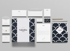 Tabarka Studio - Logo and stationery design by Anagrama