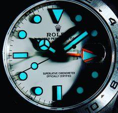 Rolex Watches For Men, Cool Watches, Men's Watches, Vintage Rolex, Vintage Watches, Rolex Explorer 2, Mercedes Logo, Black Rolex, Stainless Steel Rolex