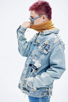 """AKMU for DAZED ©  "" Lee Chan Hyuk, Lee Soo Hyun, Akdong Musician, Korean Artist, K Idols, Kpop, Denim, Jackets, Magazines"