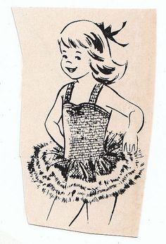 vintage illustration from Dance magazine Dance Art, Ballet Dance, Dancing Clipart, Dance Magazine, Vintage Ballerina, Ballerina Birthday, Dance Recital, Dance Costumes, Vintage Images